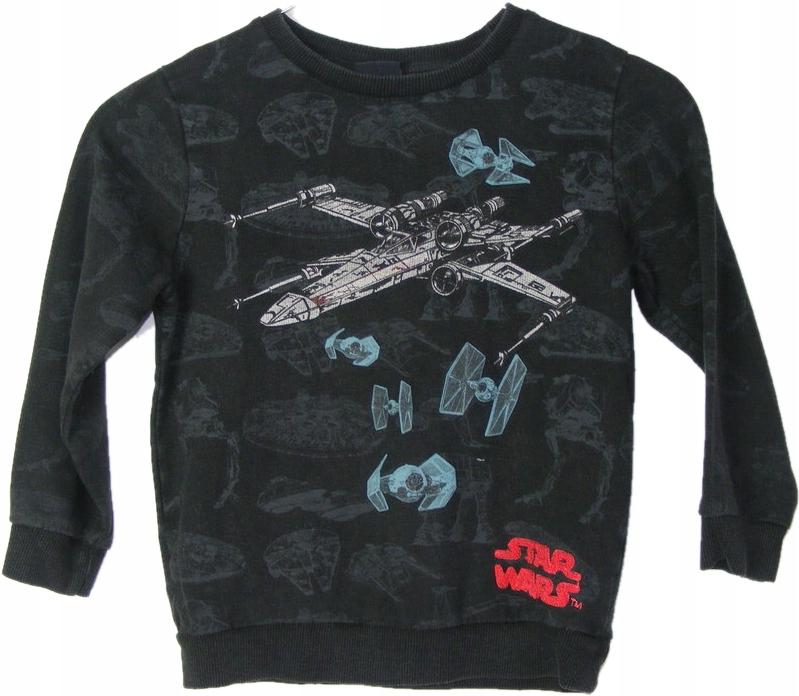 STAR WARS bawełniana bluza z aplikacją 110 cm