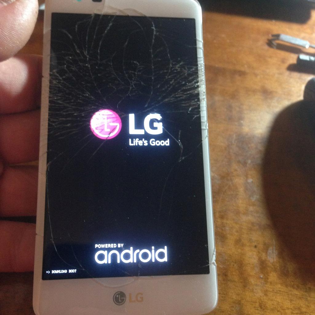 LG K8 K350N Ekran LCD ok Dotyk Ok Oryg