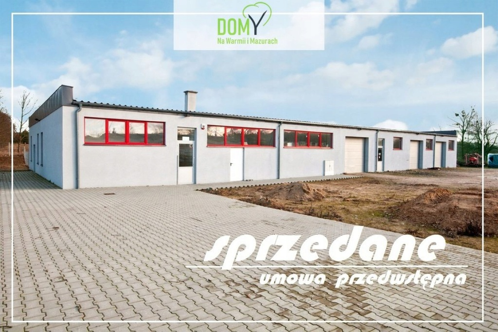 Magazyny i hale, Barczewko, Barczewo (gm.), 756 m²