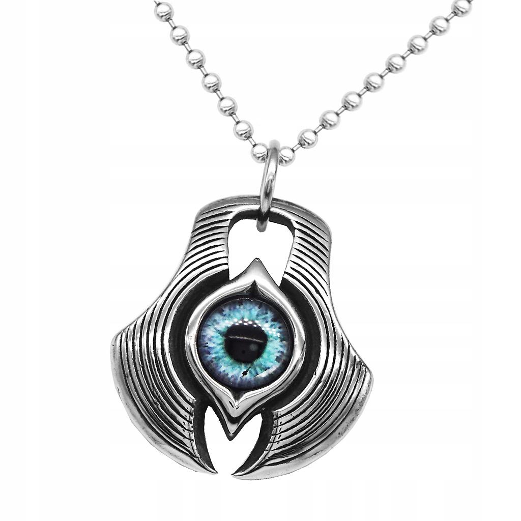 Naszyjnik Pedant dla mężczyzn - Niebieskie oko