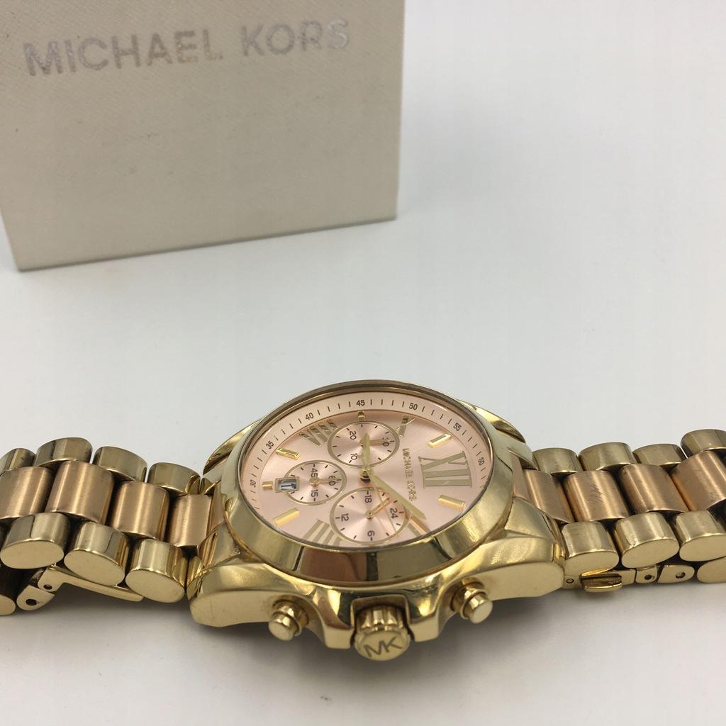 152 MICHAEL KORS zegarek złoty bransoleta 8719875481