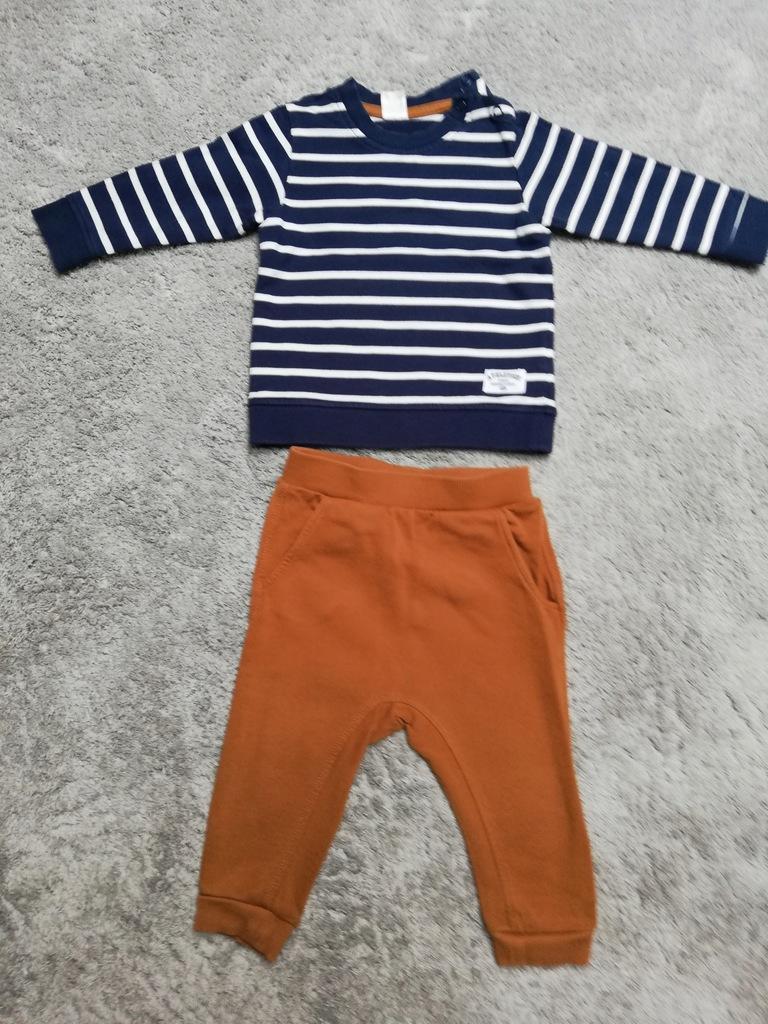 Komplet dres dla chłopca r.80 H&M