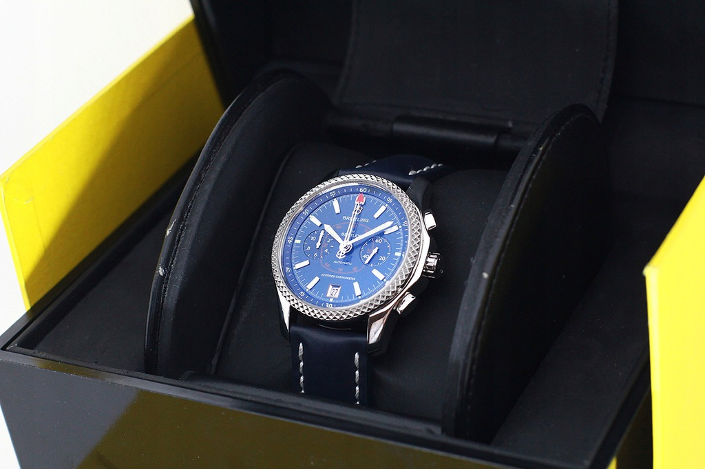 Breitling for Bentley mark VI platyna + stal SKLEP