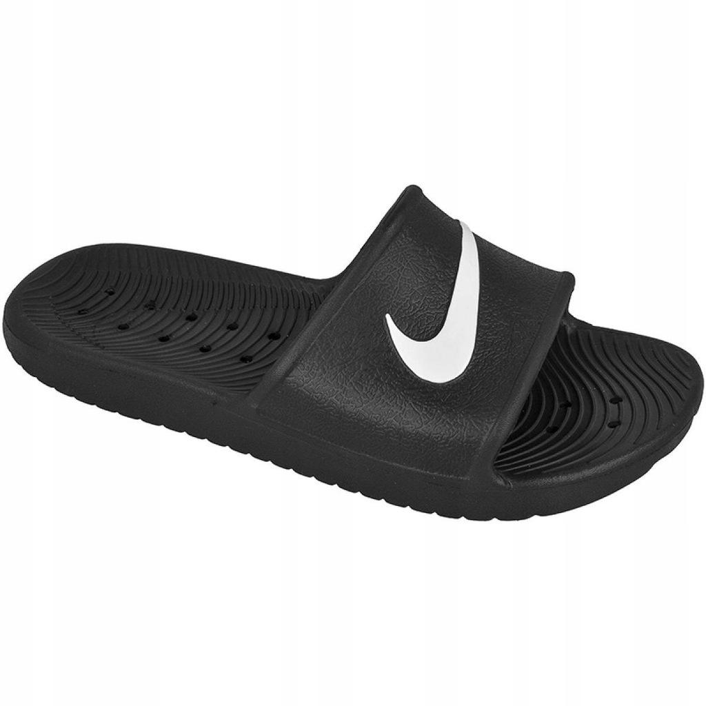 Czarne Buty Męskie Klapki Nike r.41