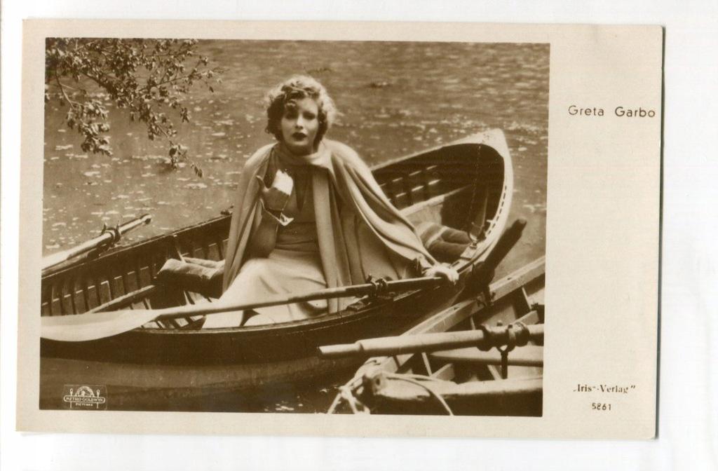 Greta Garbo Kino Film Aktorka Foto Pocztówka 4