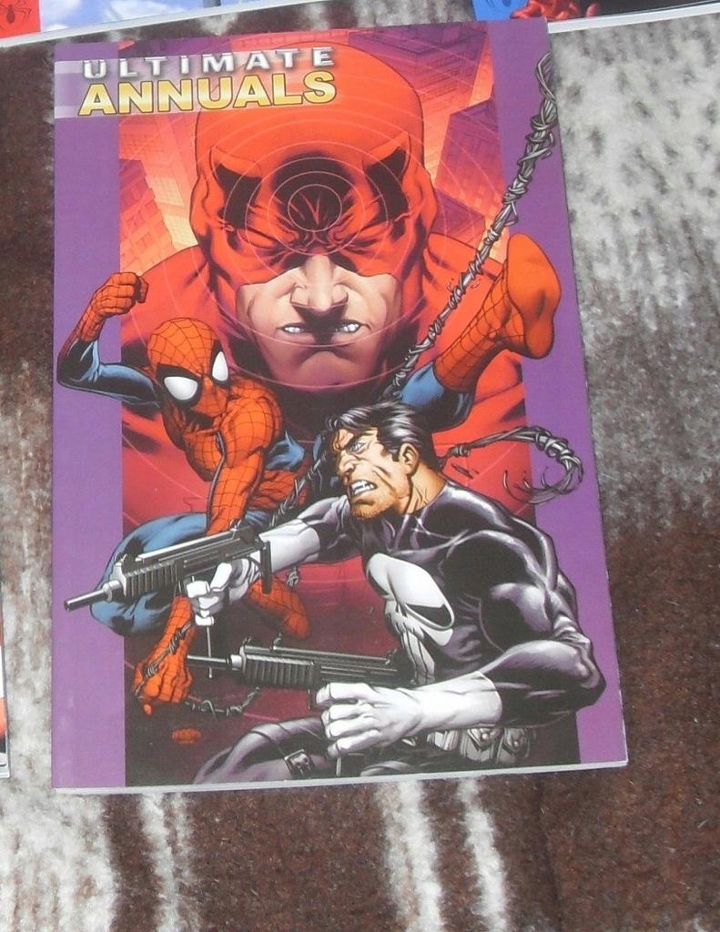 Ultimate Annuals vol 2 Spider-Man, Daredevil, F4