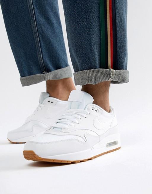 Nike Air Max 1 whitewhite white (AH8145 109)
