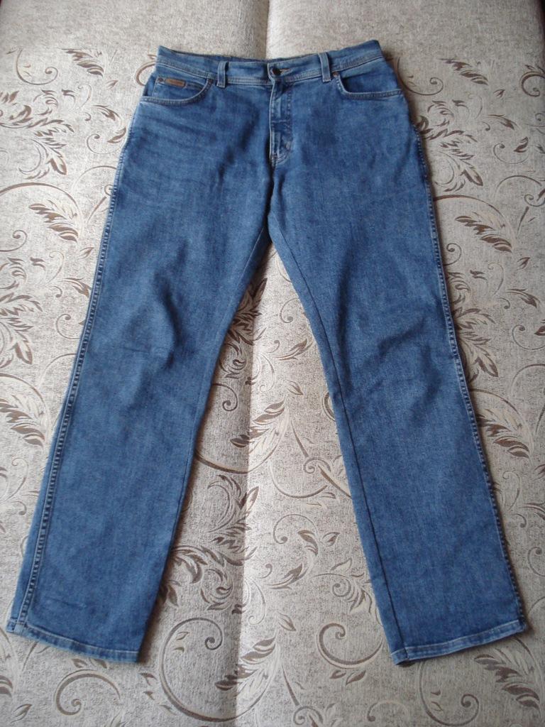 Spodnie Wrangler Texas Stretch W34 L32 pas do 88