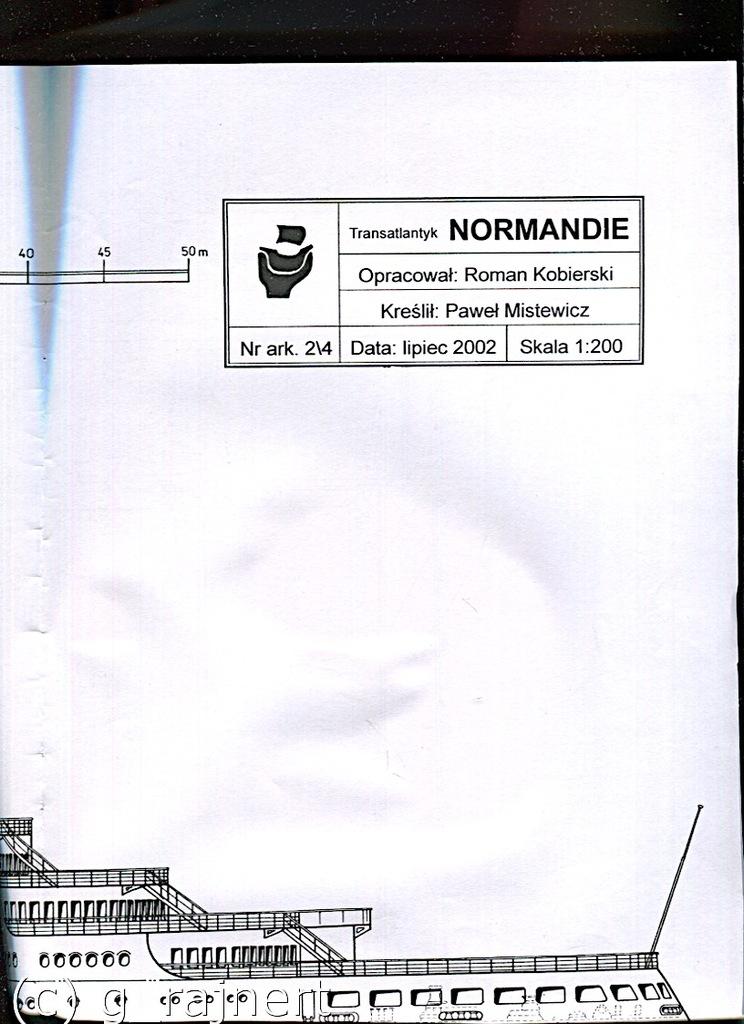 Modelarz 12/2002, 1,2,3/2003 Normandie wkładki