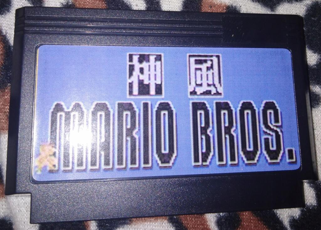 Kartridż (Cartrigde) Pegasus - Mario Bros