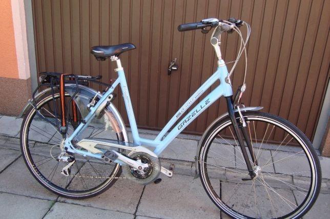 Rower Damski Gazelle Trekkingowy Aluminium Alivio 7566143369 Oficjalne Archiwum Allegro