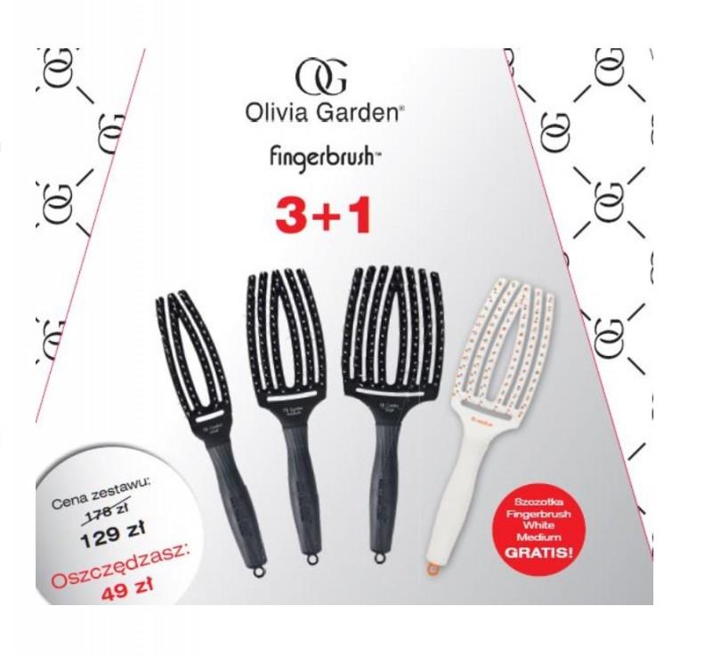 Olivia Garden Fingerbrush Zestaw Szczotek 3 1 8273006202 Oficjalne Archiwum Allegro