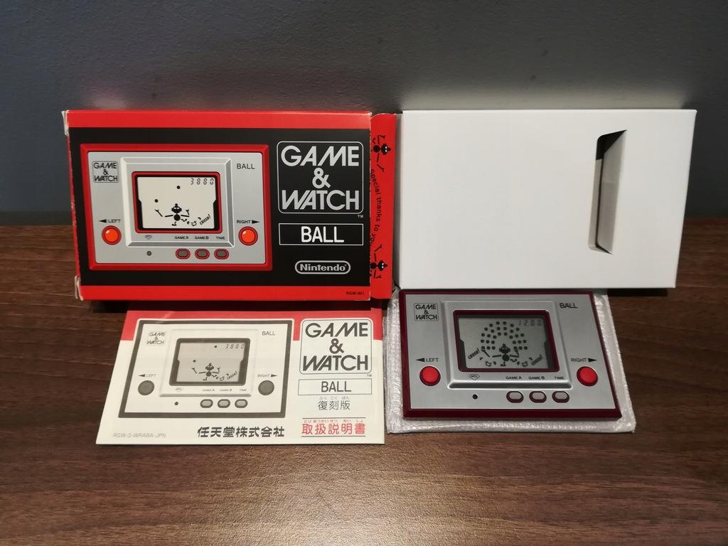 Game & Watch BALL !! Nintendo !! RGW-001