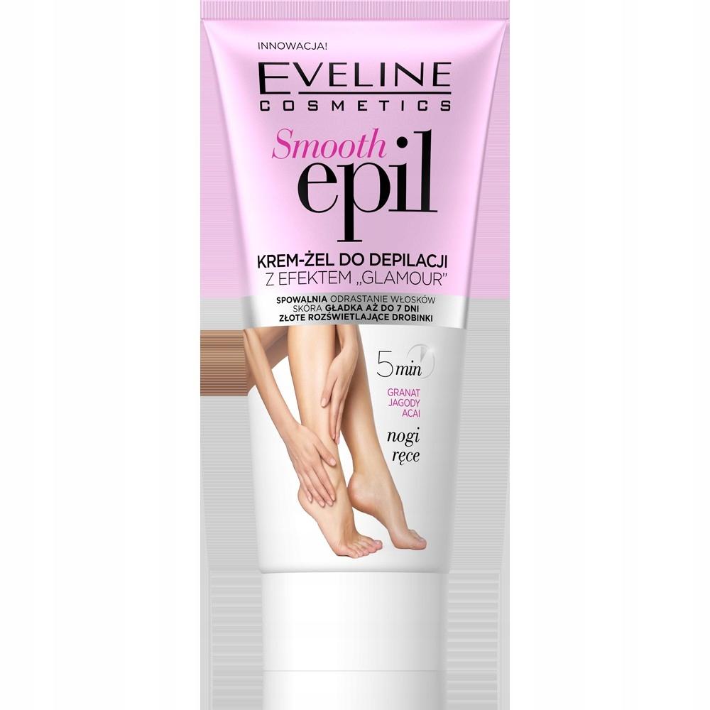 Eveline Smooth Epil Krem-żel do depilacji z efekte