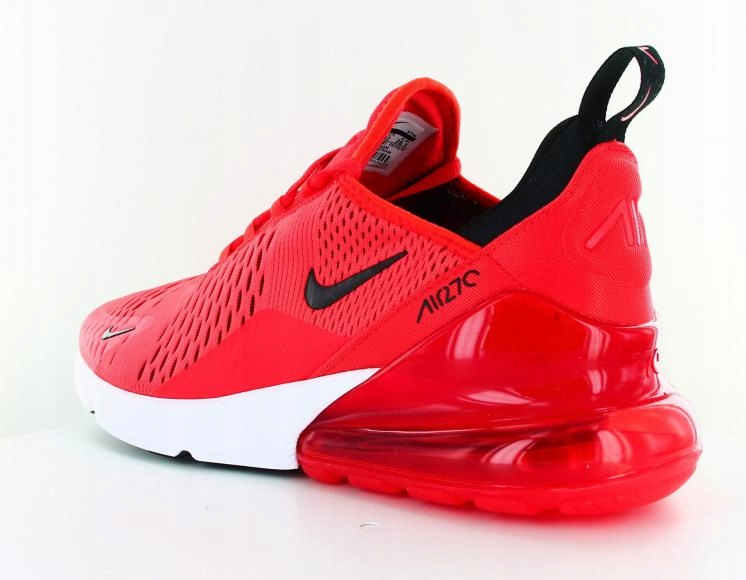 Buty Nike air max 270 czerwone 43