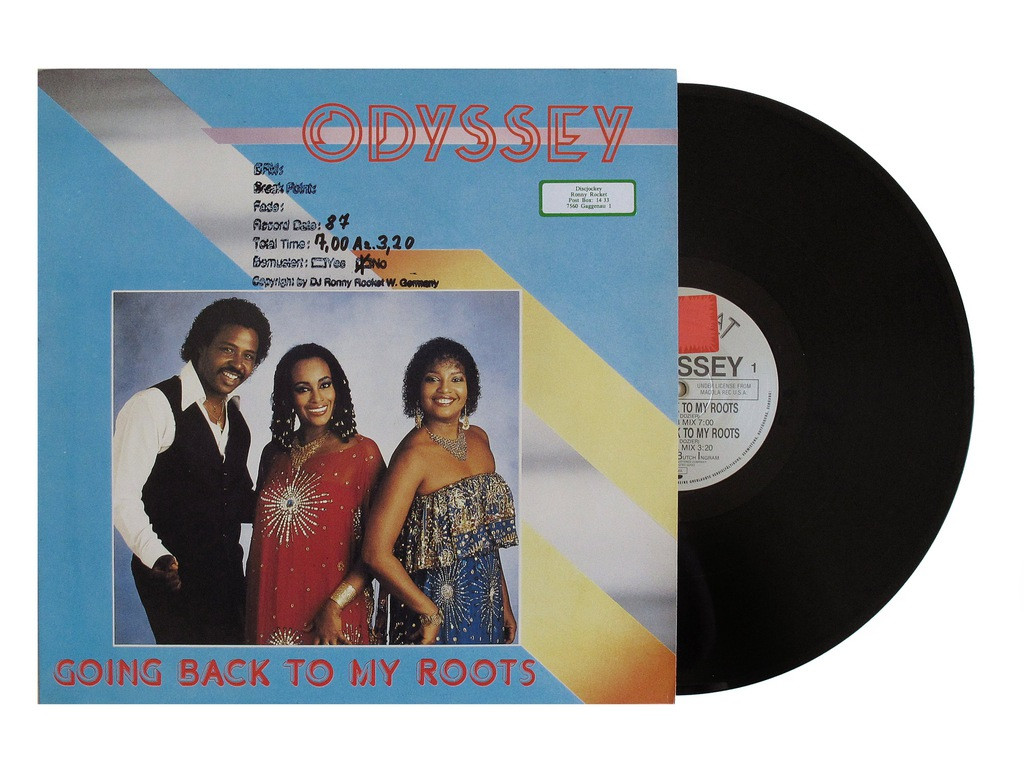 ODYSSEY - Going Back To My Roots NM Klasyk! Disco