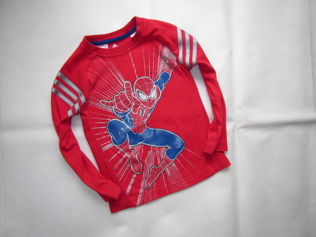 ADIDAS koszulka SPIDERMAN rozm.110