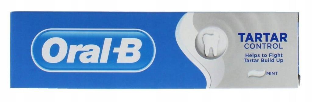 Oral B 1-2-3 Oral-B Tandpasta Tartar Control Mint
