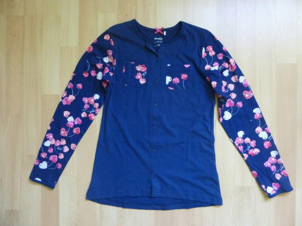 Piżama dwu-częściowa Endo Rozm. 152 Wiek 11-12 lat