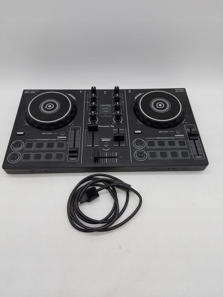 KONTROLER DJ PIONEER DDJ-200 CZARNY 54321