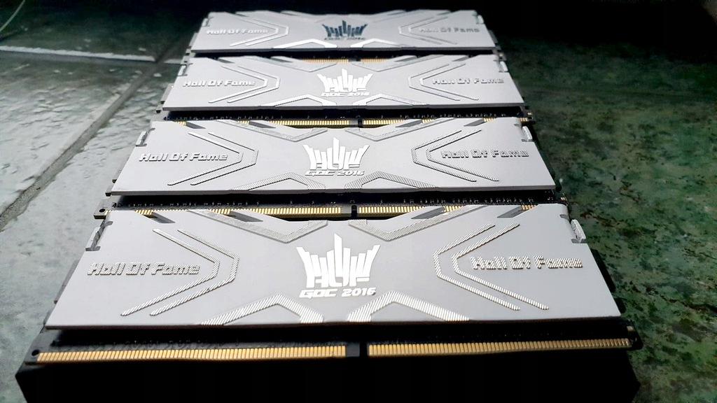 Pamięci RAM GALAX HOF DDR4-4000 CL19 32G 4x8GB