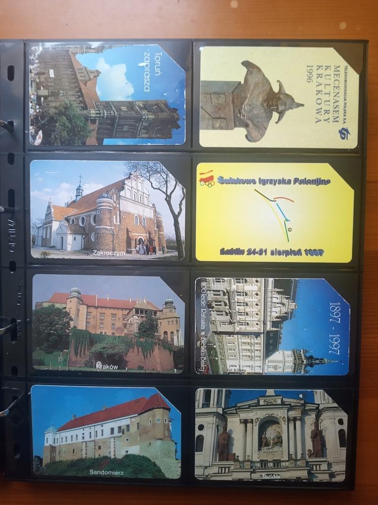 Karty telefoniczne POLSKA x 78 (zestaw nr 2)