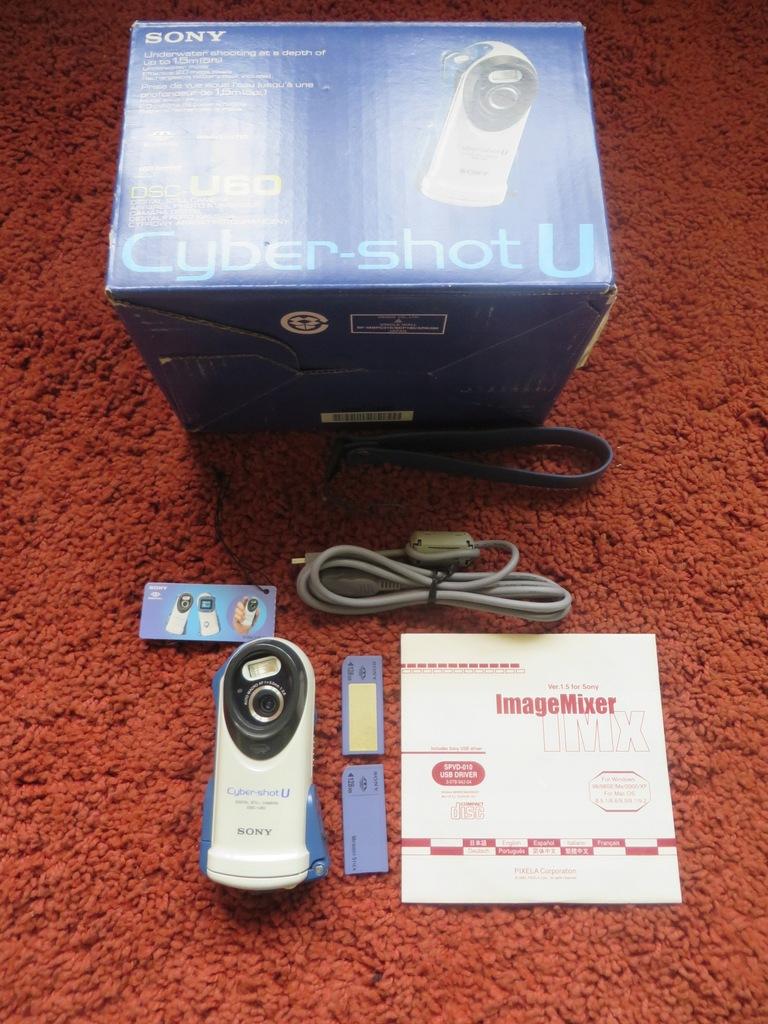 Sony Cyber-shot DSC-U60 aparat cyfrowy podwodny