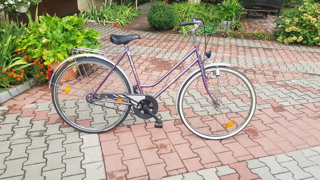 rower damski miejski GIRO 3biegi