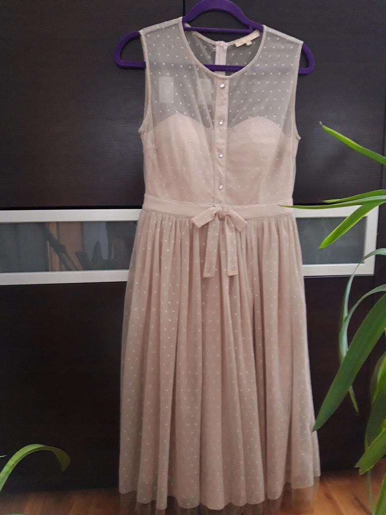 Sukienka 38 tiulowa wesele cudna! Soley