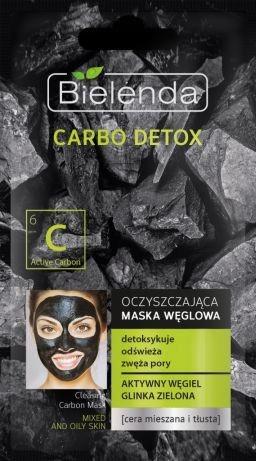 BIELENDA CARBO DETOX Maska Węglowa GLINKA