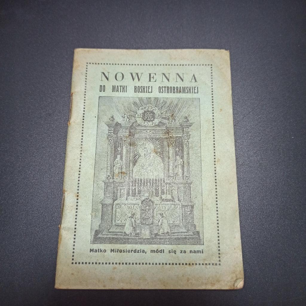Nowenna do Matki Boskiej Ostrobramskiej Wilno 1935