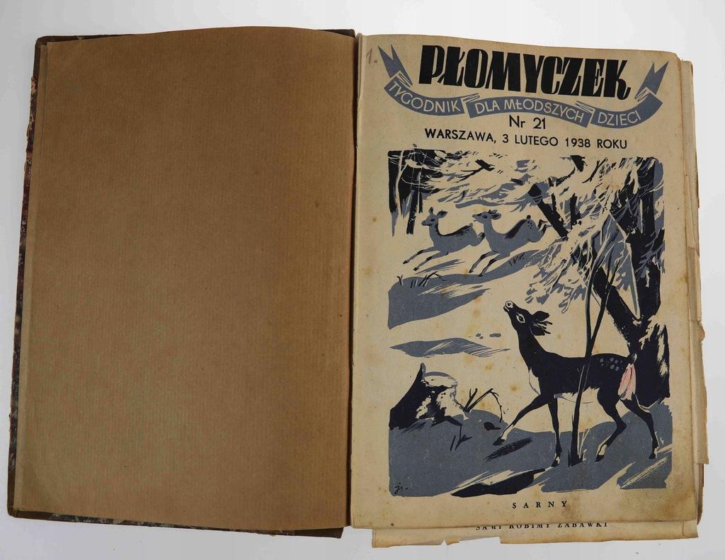 Płomyk Tygodnik dla Dzieci i Młodzieży 1938