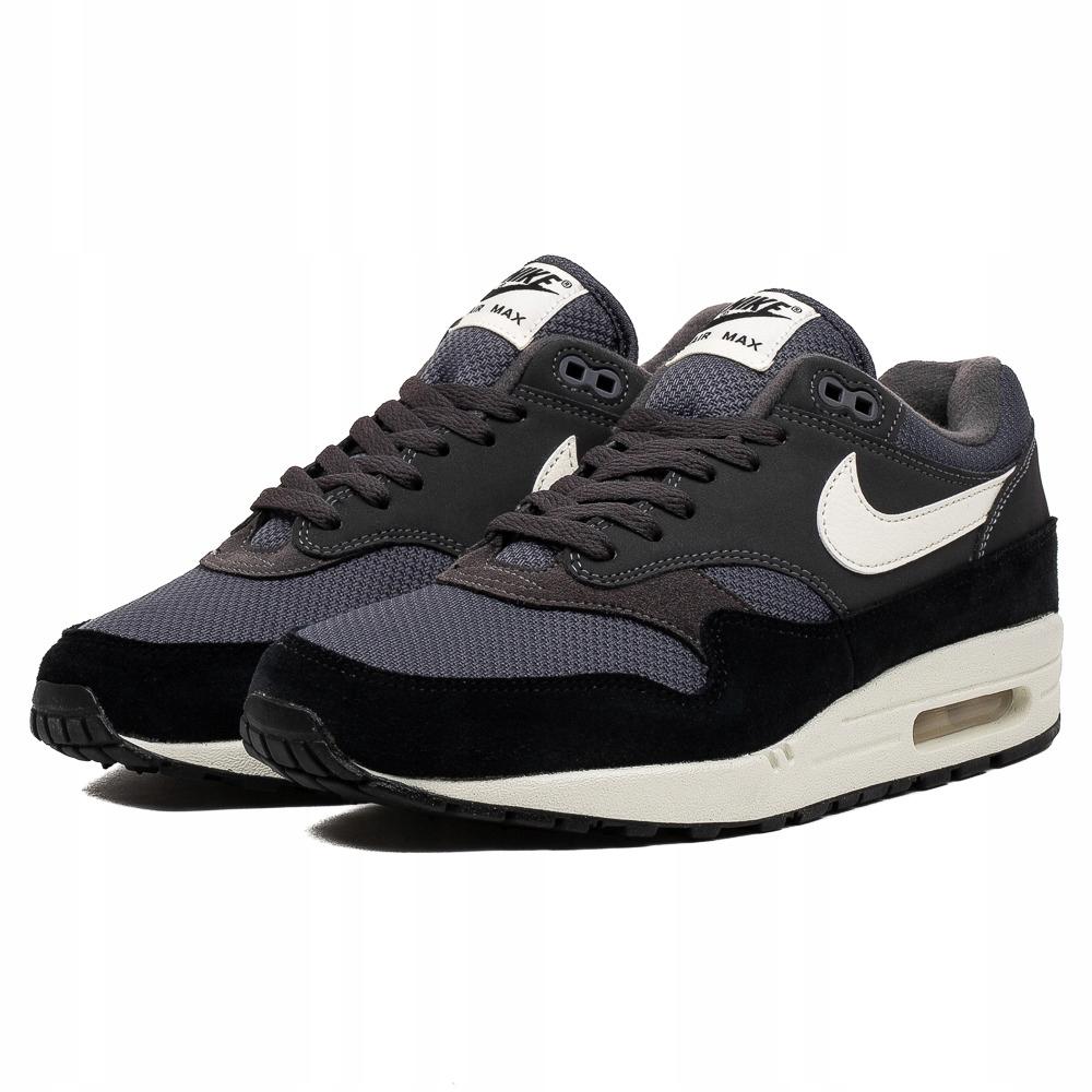 Buty Nike Air Max 1 Premium Black Safari (512033 030) Ceny