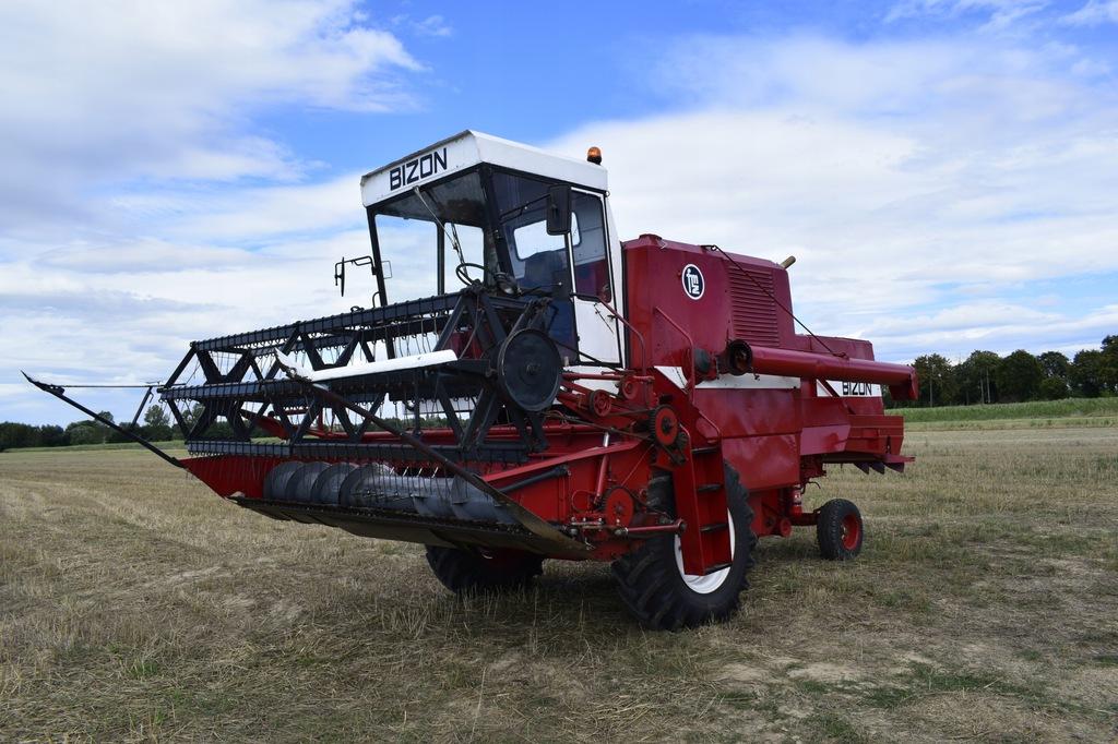 Kombajn Zbozowy Bizon Super Z056 8410729134 Oficjalne Archiwum Allegro