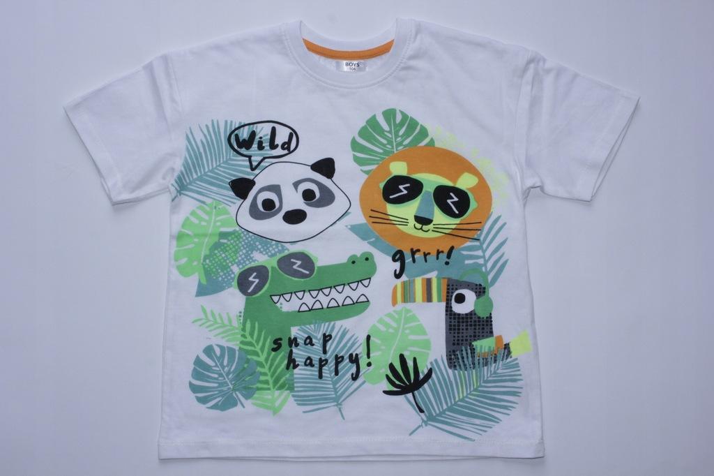 T-shirt Koszulka Bluzka z nadrukiem 104 cm