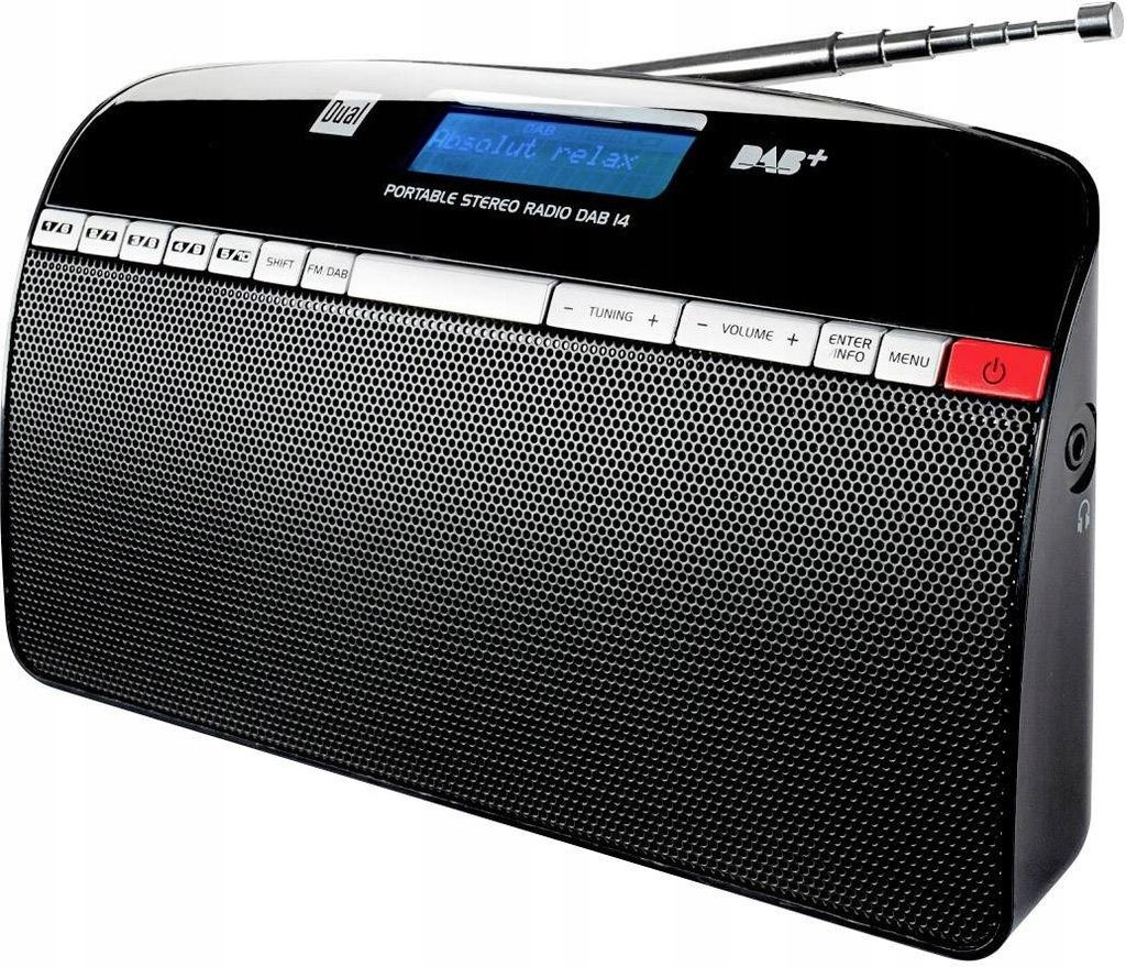 RADIO DUAL DAB 14 Digitalradio LCD FM DAB+
