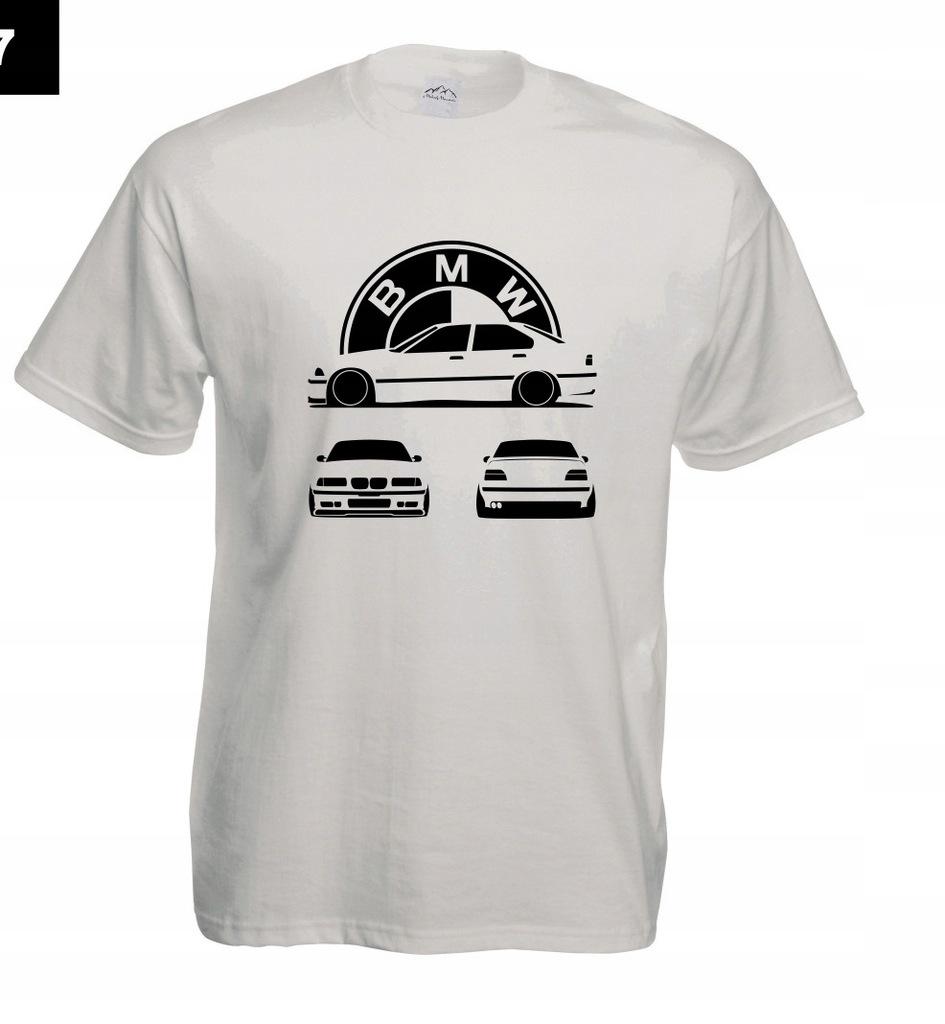 Koszulka z nadrukiem BMW UNIKAT rozm.M MT307