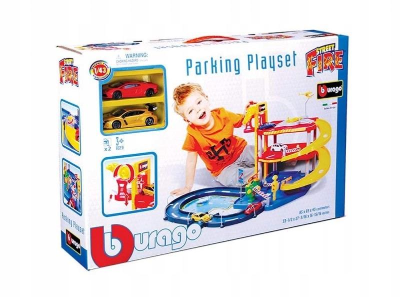 Garaż Parking Playset