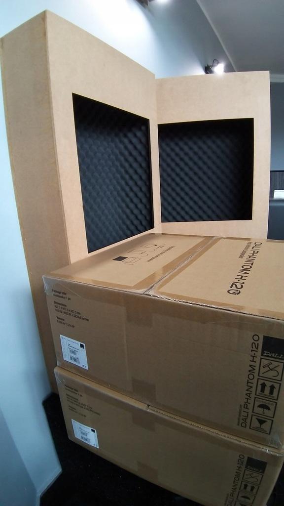 Głośniki stereo Dali Phantom H-120 + obudowy-od GI