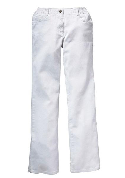 bonprix biale spodnie damskie