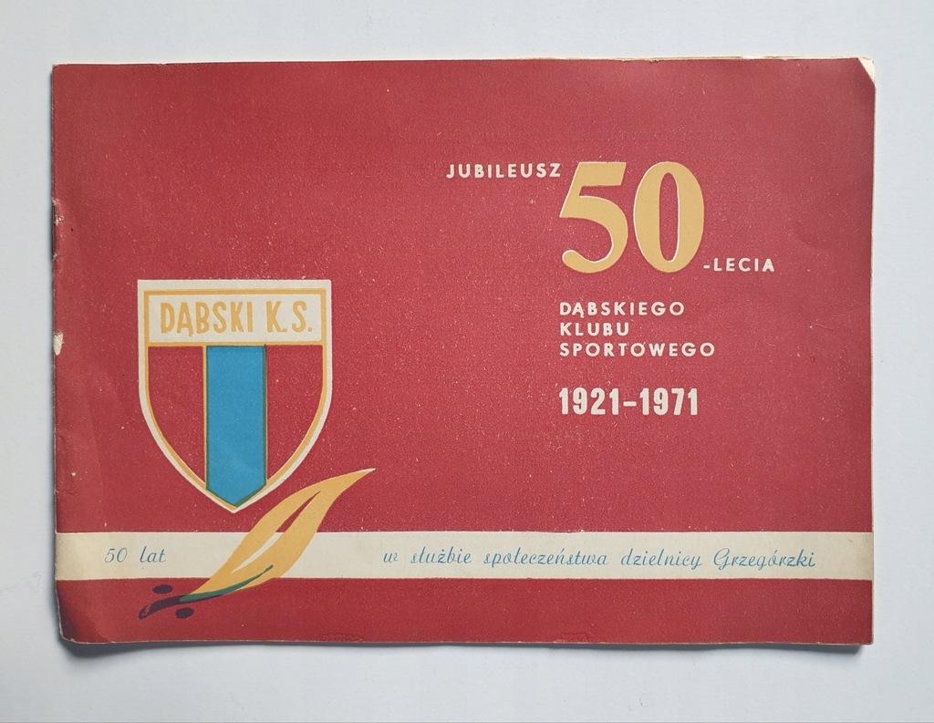 PROGRAM DĄBSKI KRAKÓW 50-LECIE 1921-1971
