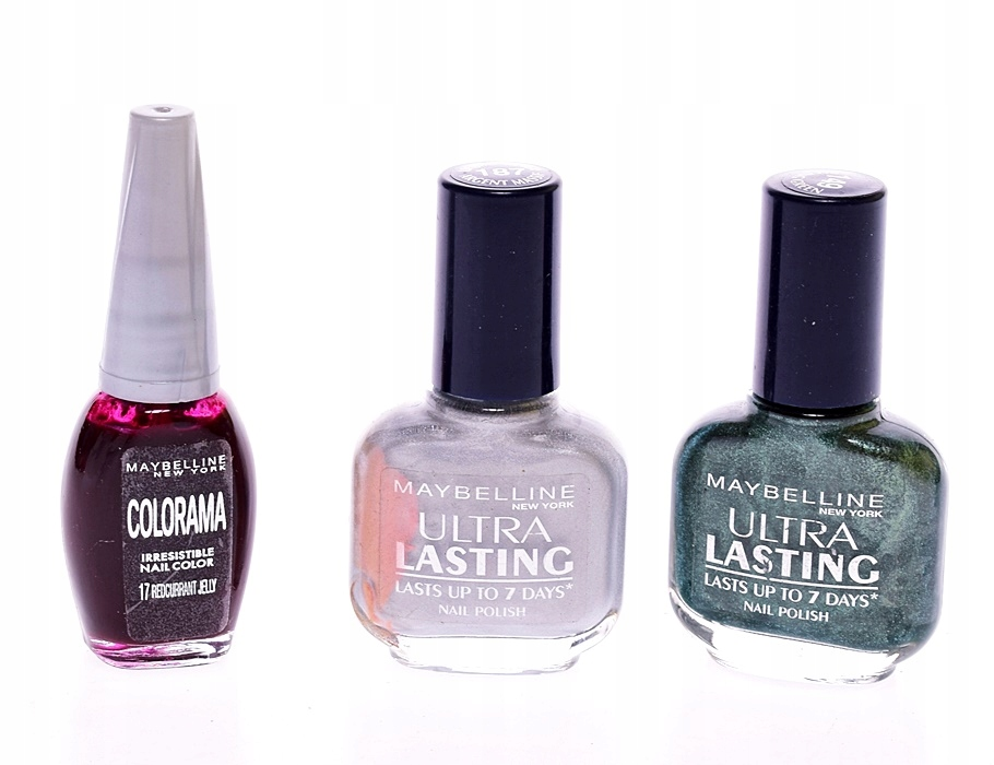 9491-2 ...MAYBELLINE ULTRA LASTING... MIX LAKIEROW