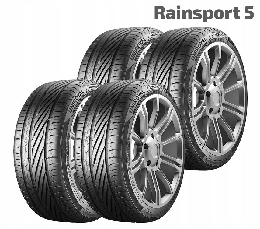 4x Uniroyal Rainsport 5 225/45 R18