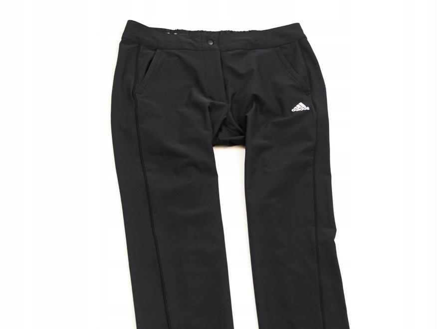 D Adidas ClimaLite Spodnie Męskie Sportowe Black S