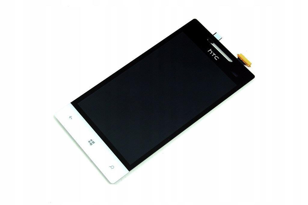 WYŚWIETLACZ LCD HTC WINDOWS PHONE 8S BIAŁY A620E