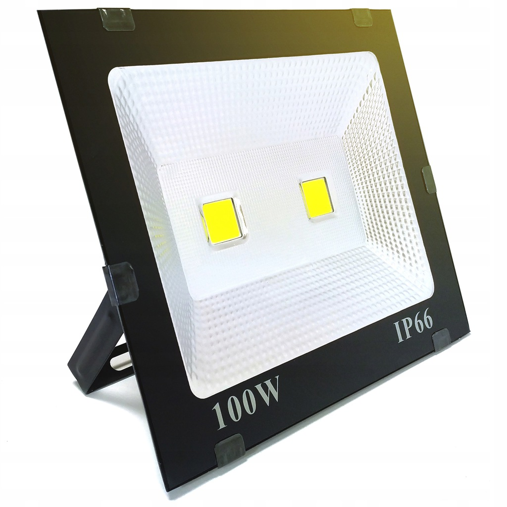 HALOGEN 100W 3500K 8020LM LAMPA REFLEKTOR LED IP66