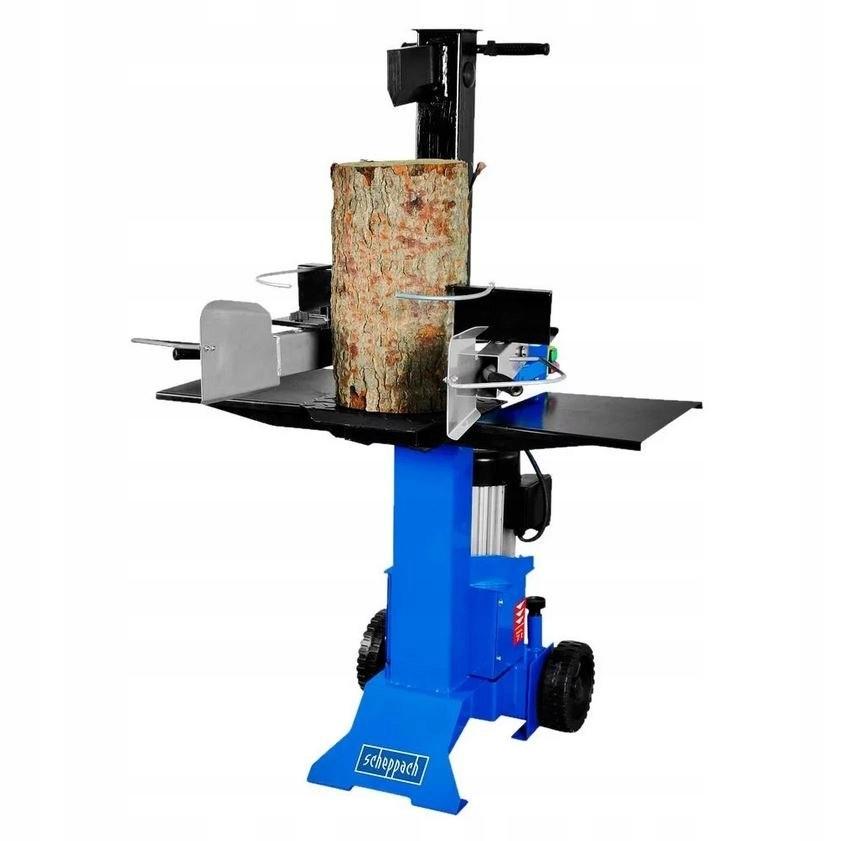Łuparka drewna rąbanie drwa siła 7t 3000W kółka