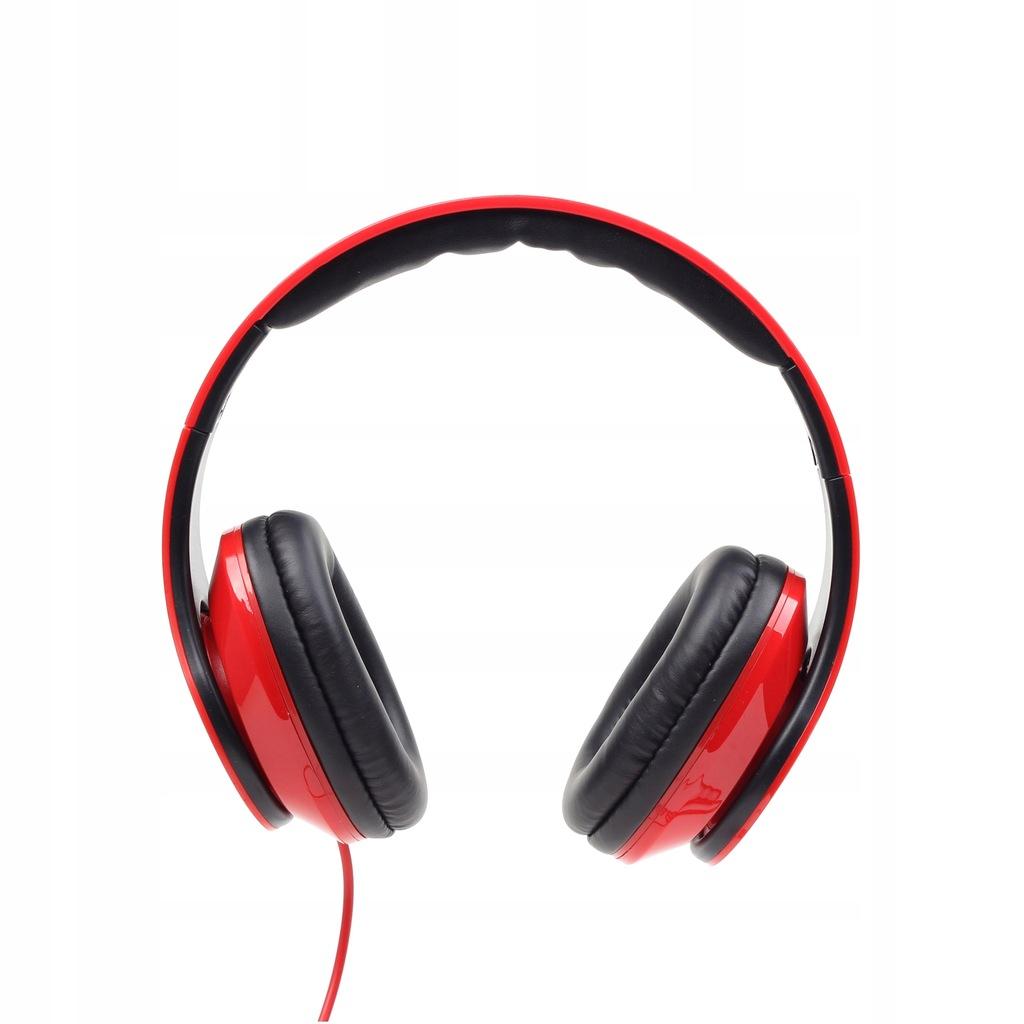 Słuchawki GEMBIRD MHS-DTW-R (kolor czerwony)