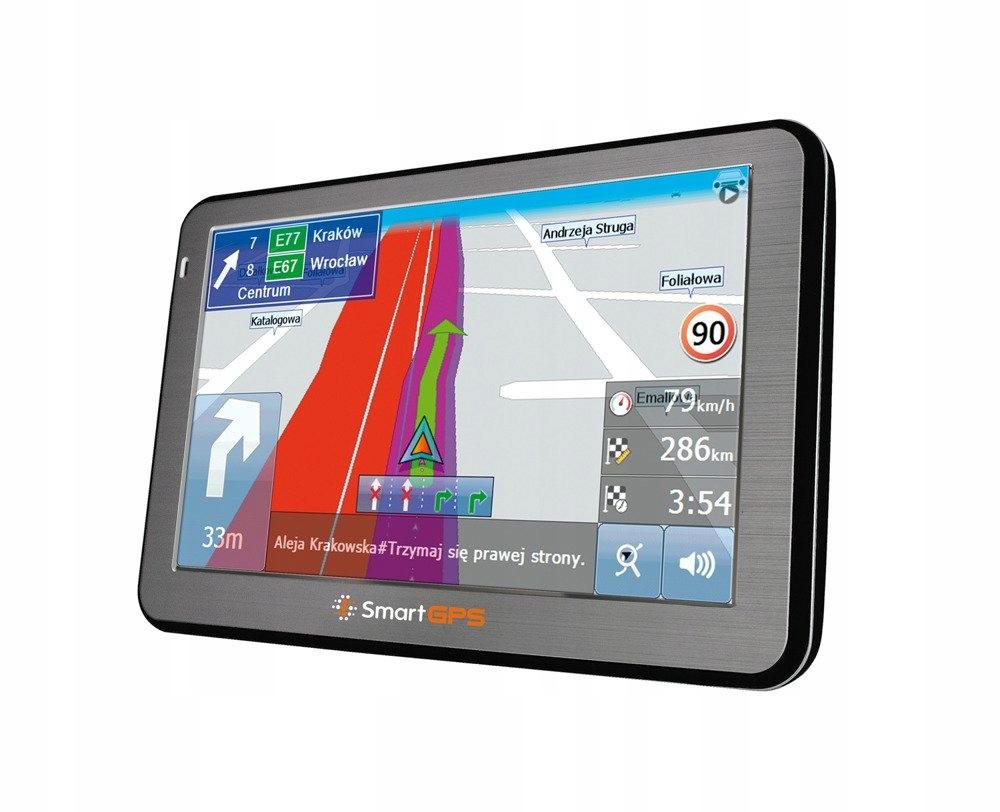Nawigacja samochodowa SmartGPS SG747 OSM EU 7 cali