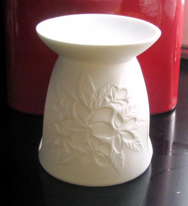Podgrzewacz na olejki zapach * porcelan biskwitowa